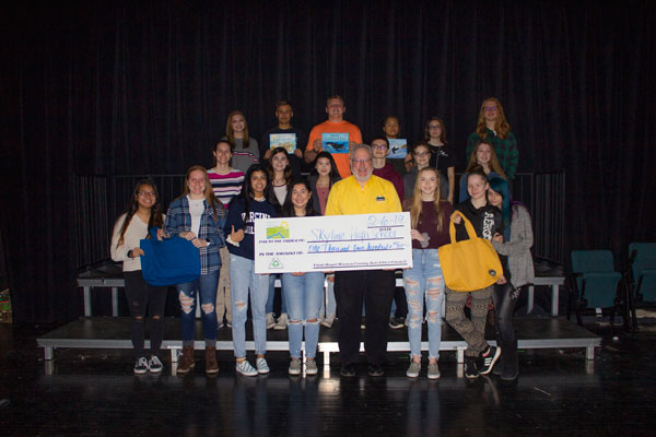 Check Presentation to SHS EC